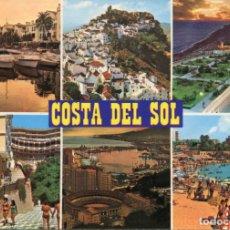Postales: COSTA DEL SOL. MARBELLA CASARES, FUENGIROLA.... CIRCULADA. BAENA. VER REVERSO. Lote 172004008