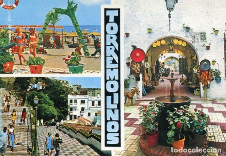 COSTA DEL SOL. TORREMOLINOS. CIRCULADA. BEASCOA. VER REVERSO (Postales - España - Andalucia Moderna (desde 1.940))