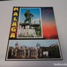 Postales: MÁLAGA - POSTAL MÁLAGA - COSTA DEL SOL. Lote 172236400