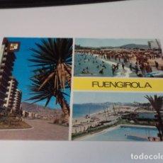 Postales: MÁLAGA - POSTAL FUENGIROLA - PASEO MARÍTIMO Y PLAYA. Lote 172243669