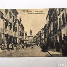 Postales: POSTAL ANTIGUA ALCALÁ LA REAL CARRERA DE LAS MERCEDES FOTÓGRAFO LOPEZ NÚMERO 5 IMPECABLE. Lote 172255040
