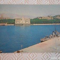 Postales: MALAGA. EL PUERTO, SILO, CATEDRAL Y CASTILLO. POSTAL SIN ESCRIBIR. EDICIONES ENRICO. MALAGA. . Lote 172309615