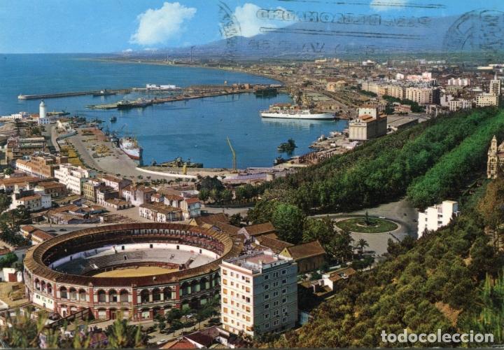 MALAGA. VISTA PARCIAL. GARCIA GARRABELLA. CIRCULADA. VER REVERSO (Postales - España - Andalucia Moderna (desde 1.940))