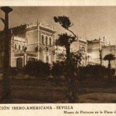 Postales: SEVILLA. EXPOSICIÓN IBEROAMERICANA. PATRONATO DEL TURISMO NO ESCRITA VER REVERSO. Lote 172735237