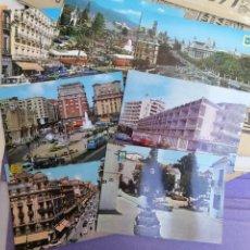 Postales: COCHES ANTIGUOS POSTALES ESPAÑA AÑOS 60 TAL FOTOS LOTE. Lote 172927715