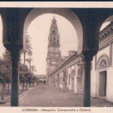 Postales: POSTAL CORDOBA - MEZQUITA - CAMPANARIO Y OBRERIA - ARRIBAS 4. Lote 173795932