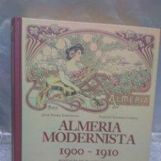 Postales: ALMERÍA ALBUM POSTALES ALMERÍA MODERNISTA, COMPLETO, 152 POSTALES. Lote 174182038