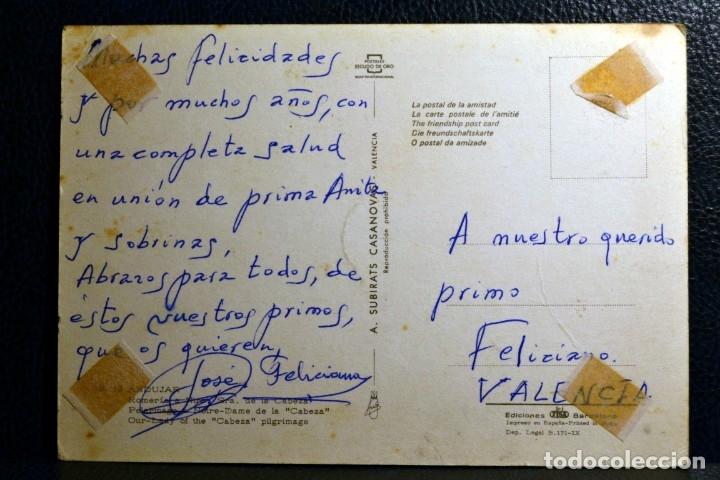 Postales: ROMERÍA DE NTRA. SRA. DE LA CABEZA - ANDUJAR - Foto 2 - 174245562