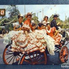 Postales: CABALLISTAS EN LA REAL FERIA - CÓRDOBA. Lote 174246310