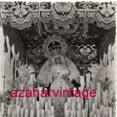 Postales: SEMANA SANTA SEVILLA - VIRGEN DE LAS ANGUSTIAS- LOS GITANOS - ARRIBAS Nº 256. Lote 174297482