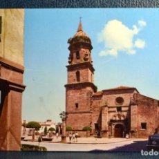 Postales: ANDUJAR - PARROQUIA DE SAN MIGUEL EN LA PLAZA DE ESPAÑA. Lote 174324872