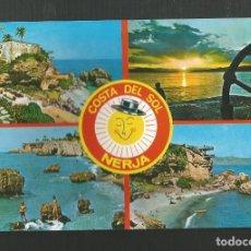 Postales: POSTAL SIN CIRCULAR - RECUERDO DE NERJA 1581 - MALAGA - COSTA DEL SOL - EDITA POSTALES COSTA DEL SOL. Lote 174418500