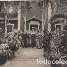 Postales: BALNEARIO DE MARMOLEJO (JAEN) - CASA ADMINISTRACION Y BALNEARIO. Lote 175227503