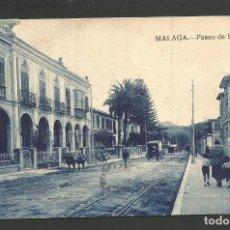 Postales: MALAGA-PASEO DE SANCHA-HELIOS-VER REVERSO-(61.932). Lote 175518460