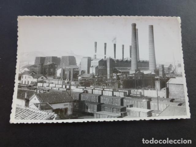 PEÑARROYA PUEBLONUEVO CORDOBA FABRICAS POSTAL FOTOGRAFICA (Postales - España - Andalucía Antigua (hasta 1939))
