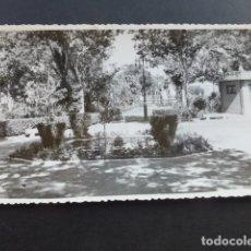 Postales: PEÑARROYA PUEBLONUEVO CORDOBA JARDINES POSTAL FOTOGRAFICA. Lote 175529105
