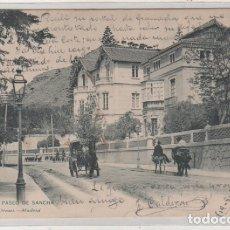 Postales: MÁLAGA PASEO DE SANCHA 1447 HAUSER Y MENET. SERIE GENERAL. GIBRALTAR 1907. Lote 175609108