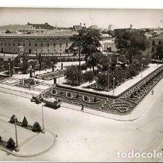 Postales: JAEN LINARES GLORIETA DE AMERICA ED. PAP. SEGUNDO. CIRCULADA. Lote 175696925