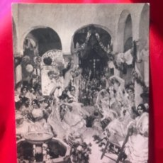 Postales: POSTAL SEVILLA FERIA EL BAILE JOAQUIN SOROLLA PROVINCES OF SPAIN HSA 1923 HISPANIC SOCIETY AMERICA. Lote 175717360