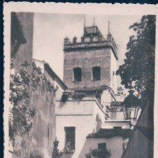 Postales: POSTAL SEVILLA - BARRIO DE SANTA CRUZ - JUDERIA . Lote 175762912