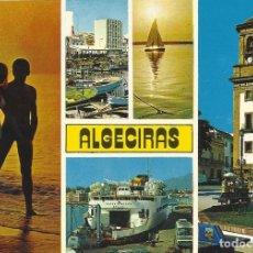 Postales: ALGECIRAS. DIVERSOS ASPECTOS. 163. SUBIRATS CASANOVAS. 10X15 CM. BUEN ESTADO. 1979. . Lote 175767420
