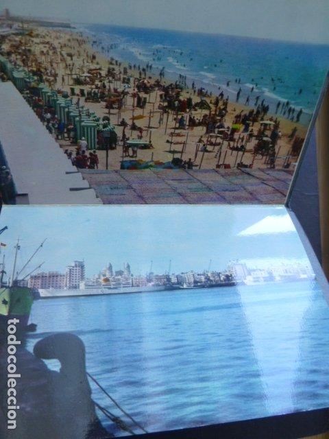 Postales: CADIZ 10 POSTALES EN COLOR 1962 - Foto 2 - 175796809