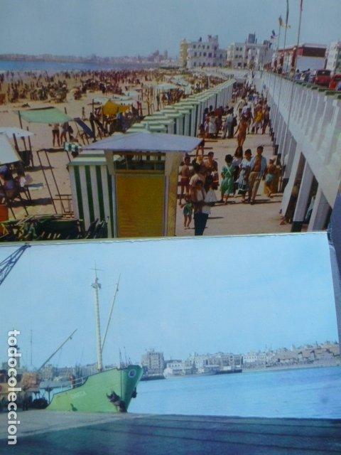Postales: CADIZ 10 POSTALES EN COLOR 1962 - Foto 6 - 175796809
