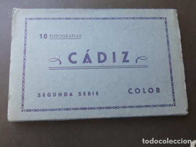 CADIZ 10 POSTALES EN COLOR 1962 (Postales - España - Andalucia Moderna (desde 1.940))