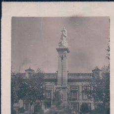 Postales: POSTAL SEVILLA FOTOGRAFICA - MONUMENTO DE LA INMACULADA CONCEPCION. Lote 175916264