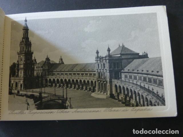 Postales: SEVILLA EXPOSICION IBERO AMERICANA CUADERNO 20 POSTALES COMPLETO - Foto 4 - 175969819