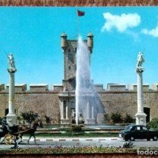 Postales: CADIZ - PUERTA DE TIERRA. Lote 176067978