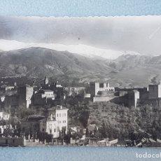Postales: GRANADA LA ALHAMBRA VISTA GENERAL POSTAL . Lote 176079283
