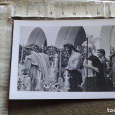 Postales: SEMANA SANTA SEVILLA - MINI POSTAL - 6X8 CM - ARRIBAS - PRESENTACION AL PUEBLO - HDAD DE SAN BENITO. Lote 176199194