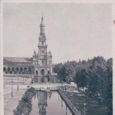 Postales: POSTAL SEVILLA - EXPOSICION IBERO AMERICANA -. PLAZA DE ESPAÑA - L ROISIN 120 FOTOGRAFICA. Lote 176362975