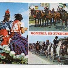 Postales: FUENGIROLA. ROMERÍA TÍPICA.. Lote 176469893