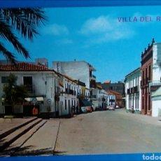 Postales: POSTAL 5 VILLA DEL RÍO CÓRDOBA CALLE GENERAL DE FRANCO ED ARRIBAS. Lote 176489909
