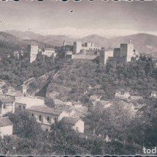 Postales: POSTAL GRANADA VISTA GENERAL ALHAMBRA. Lote 176545219
