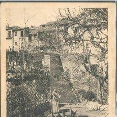 Postales: POSTAL ANTIGUA GRANADA UN PATIO DEL ALBAICIN NON DIVIDIDA . Lote 176864688