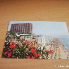 Postales: TORREMOLINOS ( MALAGA ) PLAYA DEL BAJONDILLO. Lote 176902044