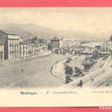 Postales: MALAGA.EL GUADALMEDINA,COLECCION MALAGUEÑA Nº 3, CIRCULADA 1907, VER FOTOS. Lote 177036860