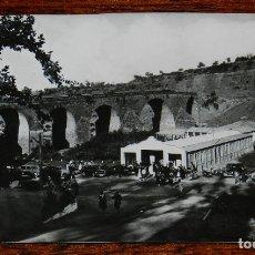 Postales: FOTOGRAFIA DE MARMOLEJO, JAEN, PUENTE ROMANO Y BALNEARIO, TAMAÑO POSTAL.. Lote 177257534