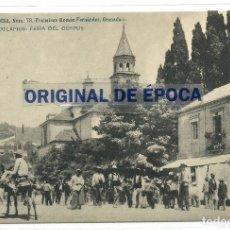 Postales: (PS-61754)POSTAL DE GRANADA-EN LOS ESCOLAPIOS.FERIA DEL CORPUS. Lote 177290278