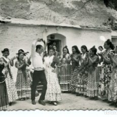 Postales: GRANADA-GITANOS DEL SACRO-MONTE- ZAMBRA- SICILIA- 1963. Lote 177703570