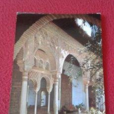 Postales: POSTAL POST CARD CARTE POSTALE GRANADA GENERALIFE GALERÍA DEL PALACIO THE PALACE GALLERY VER FOTO/S. Lote 177737103