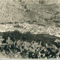 Postales: UBRIQUE-CÁDIZ-VISTA GENERAL--FOTOGRÁFICA AÑO 1946- RARA. Lote 177761057