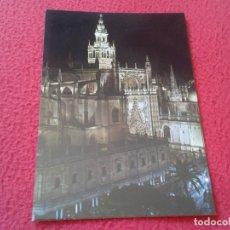 Postales: POSTAL POST CARD CARTE POSTALE SEVILLA CATEDRAL Y LA GIRALDA CATHEDRAL CATHÉDRALE ANDALUSÍA VER FOTO. Lote 177763168