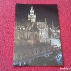 Postales: POSTAL POST CARD CARTE POSTALE SEVILLA CATEDRAL Y LA GIRALDA CATHEDRAL CATHÉDRALE ANDALUSÍA VER FOTO. Lote 177763264