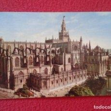 Postales: POSTAL POST CARD CARTE POSTALE SEVILLA VISTA GENERAL DE LA CATEDRAL VIEW OF THE CATHEDRAL ANDALUSIA . Lote 177763552