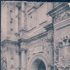 Postales: POSTAL GRANADA - CATEDRAL - PUERTA DEL PERDON - GRAFOS - 12. Lote 178001873