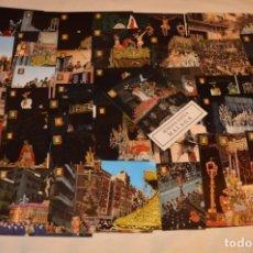 Postales: LOTE 49 TARJETAS POSTALES - MÁLAGA SEMANA SANTA - SIN CIRCULAR - VARIADAS AÑOS 60 - 70 - 80 ¡MIRA!. Lote 178062640
